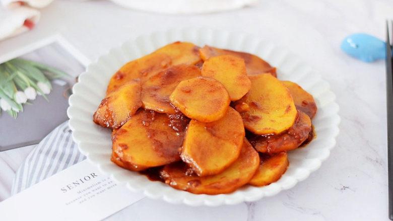 西红柿炒土豆片