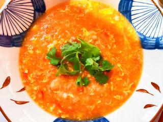 西红柿疙瘩汤,非常不错哦~