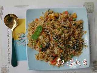 紫菜炒饭,太香了!