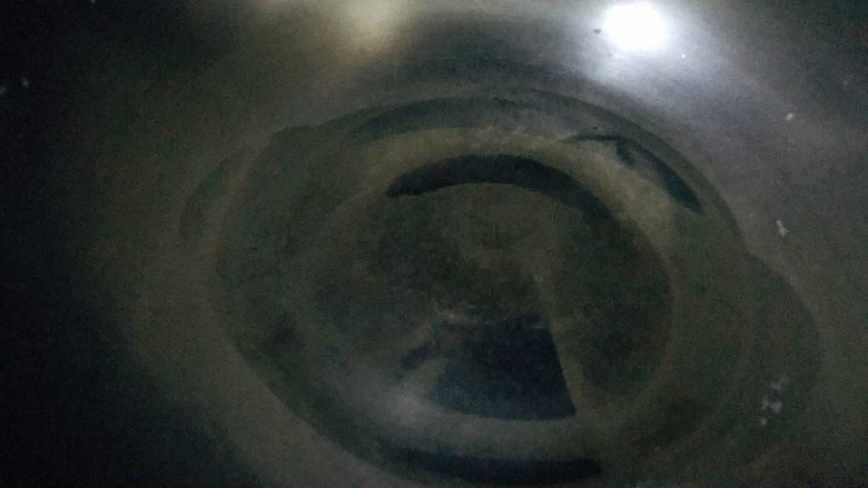 凉拌油麦菜,锅中热油