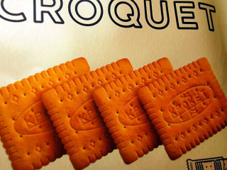 棉花糖饼干,饼干形状可方可圆