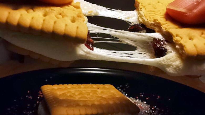 棉花糖饼干
