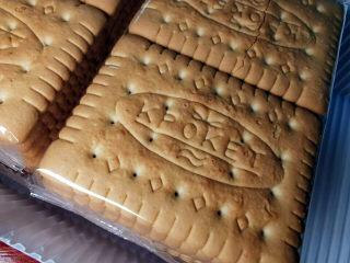 棉花糖饼干,最好买有独立色装的饼干