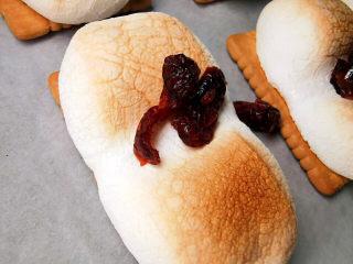 棉花糖饼干,别忘了小姐姐爱吃的蔓越莓