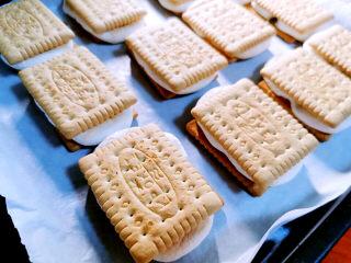 棉花糖饼干,动作要快,别让棉花糖受凉变硬了