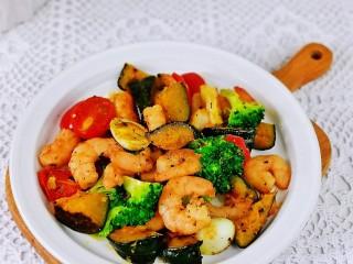 什锦虾仁,简单快手零失败,健康低脂巨好吃。