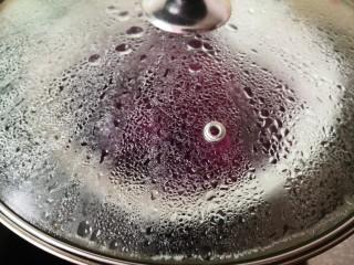 紫薯酥,盖上盖子大火蒸15分钟
