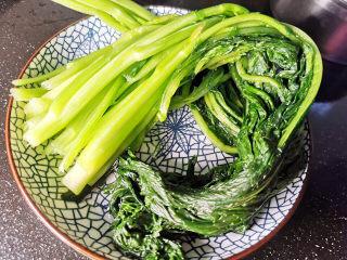 雪菜炒蚕豆,雪菜