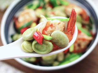 韭菜炒蚕豆,清爽不油腻,鲜香味美好好吃,吃上一口就停不下来了。