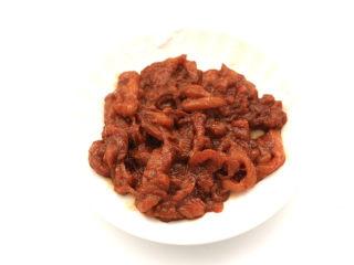 酸汤米线,混合搅拌均匀后腌制半小时。