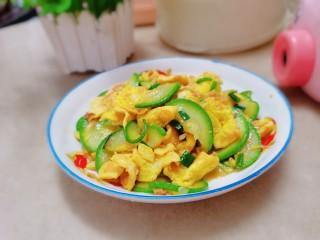 西葫芦炒鸡蛋,西葫芦炒鸡蛋就做好了
