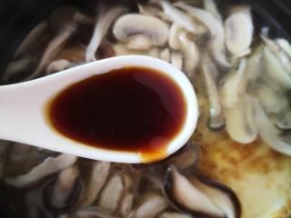 平菇鸡蛋汤,蚝油