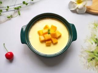 牛奶鸡蛋布丁,细腻滑嫩的牛奶鸡蛋布丁完成。