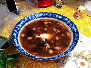 花生红枣汤➕花生红豆红枣汤