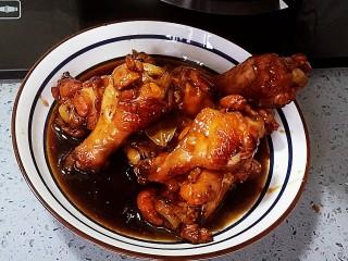 可乐鸡翅根,留点汤汁拌米饭