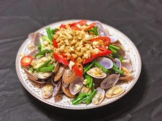 葱油花蛤,是不是超级简单又快手的菜品 你确定不试一试吗