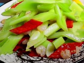 虾皮拌芹菜