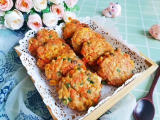 胡萝卜鸡肉饼