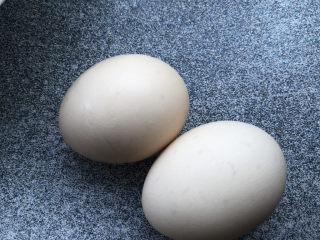 水嫩蒸蛋,鸡蛋比较小就用了两个。
