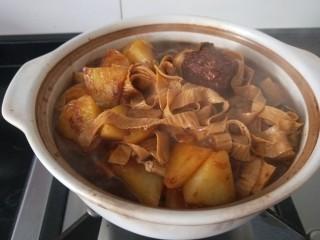 白菜煲,搅拌一下已经熟了。