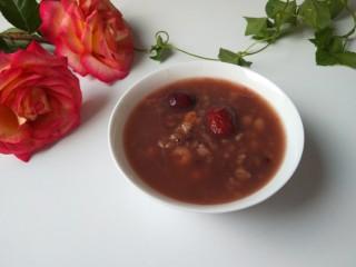 红枣小米燕麦粥,成品图