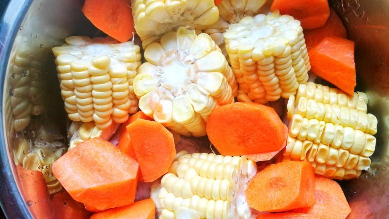 胡萝卜筒骨汤,加胡萝卜,