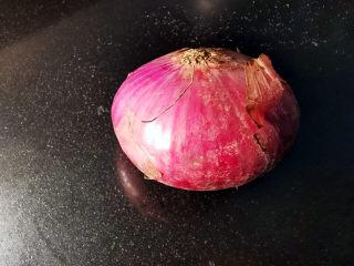 洋葱拌牛肉,紫皮洋葱