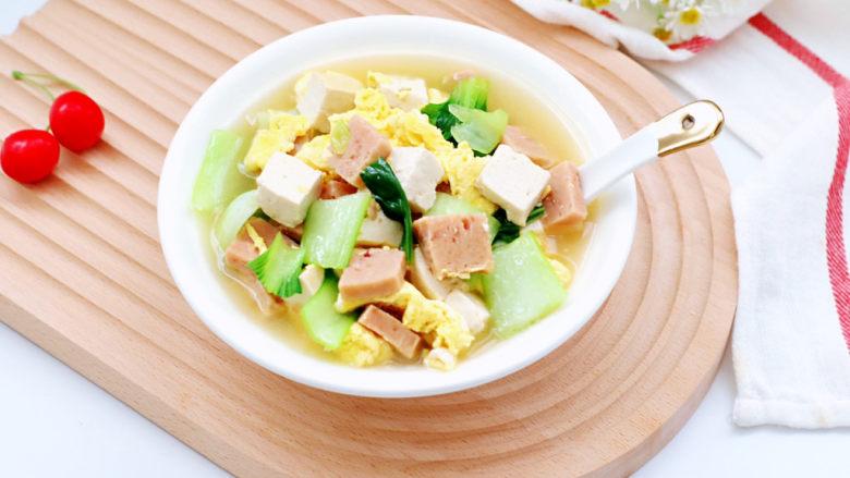 豆腐蛋花汤,喜欢的小伙伴们赶紧给家人安排起来吧!