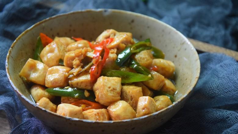 酸辣豆腐,一碗酸辣可口的酸辣豆腐就做好了。