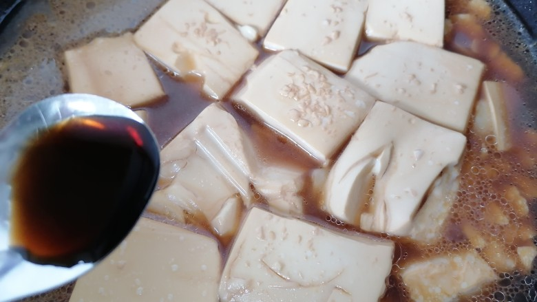 酸辣豆腐,过一会加入一勺醋