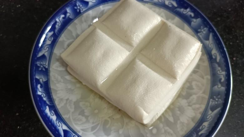 酸辣豆腐,准备食材