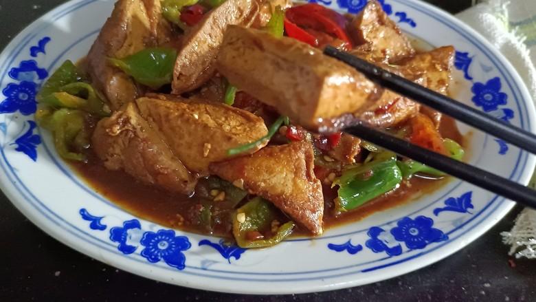酸辣豆腐,成品3