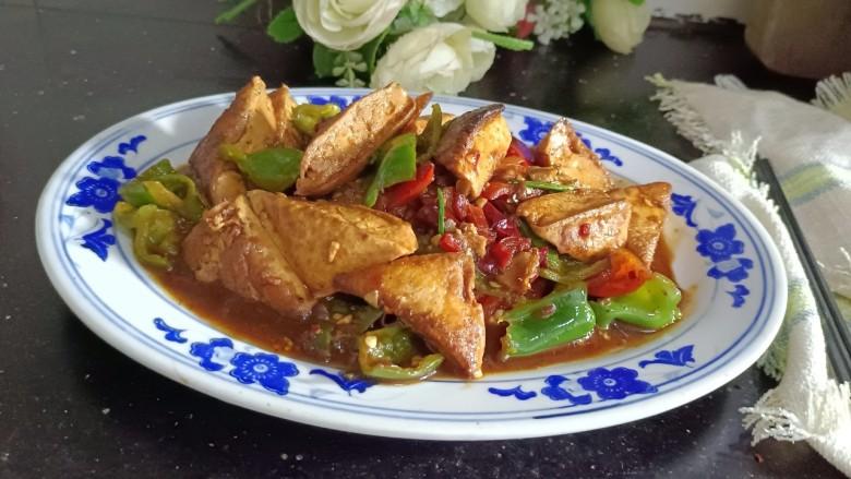 酸辣豆腐,成品2
