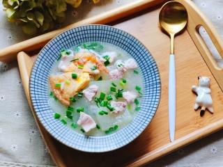 冬瓜瘦肉汤,成品图