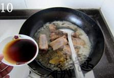 蒜香排骨,加入日式照烧汁