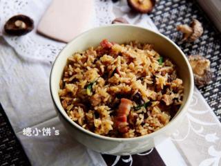 菌菇咸肉饭