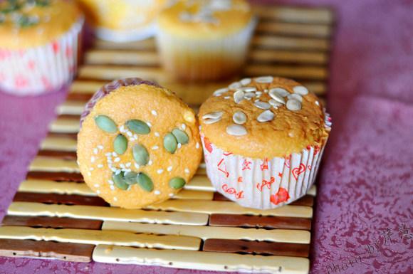 酸奶果仁小蛋糕