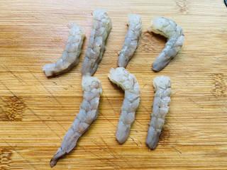 海鲜菇豆腐汤,虾仁