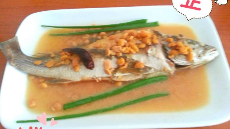 普宁豆酱煮黄花鱼