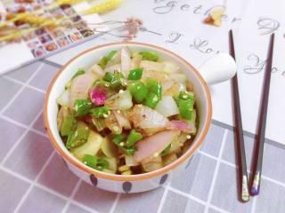 洋葱炒青椒,成品