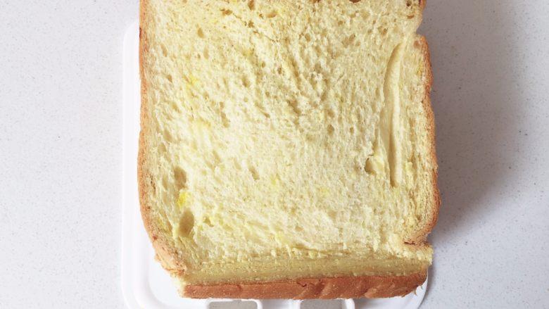 牛油果香蕉口袋面包—易携带宝宝三明治,牛油果和香蕉很搭哦......,重合盖上另外一片吐司