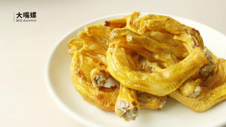 暴爽花甲鸭脚煲丨大嘴螺,6.炸至两面金黄就可以出锅了