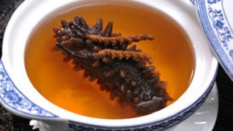 滋补东虫海参汤