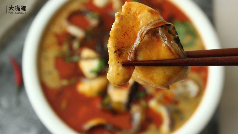 特色螺蛳斑鱼锅丨大嘴螺,成品