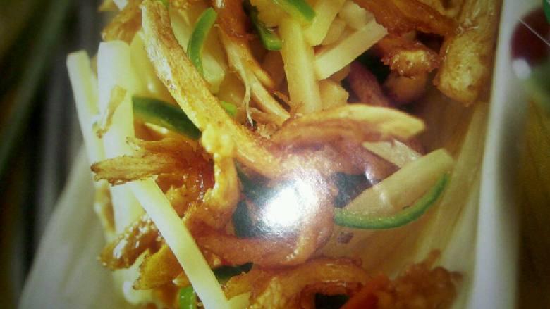 鲜姜炒鸡丝