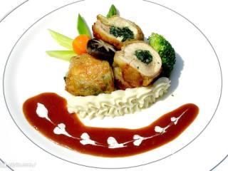 蒜蓉菠菜龙虾
