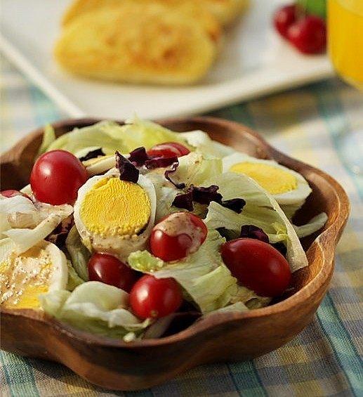 馒头的华丽转身---鸡蛋沙拉VS黄金馒头