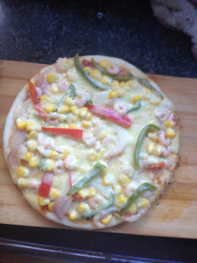 平底锅版--蔬菜披萨