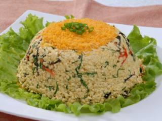 养生鱼籽小豆腐