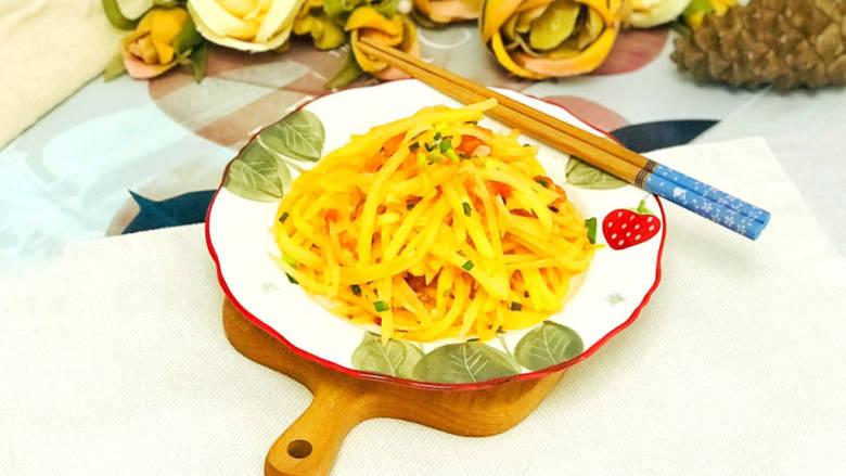 西红柿炒土豆丝